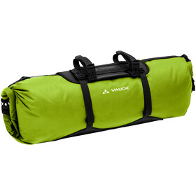 VAUDE Trailfront Steltaske 19l, black/green